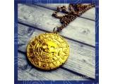 Кулон Ацтекская монета