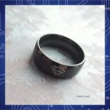 Кольцо Супермен из стали