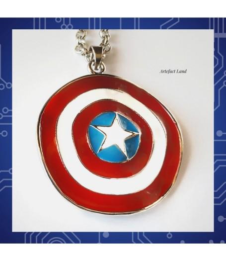 Купить Кулон Капитан Америка из комиксов Marvel
