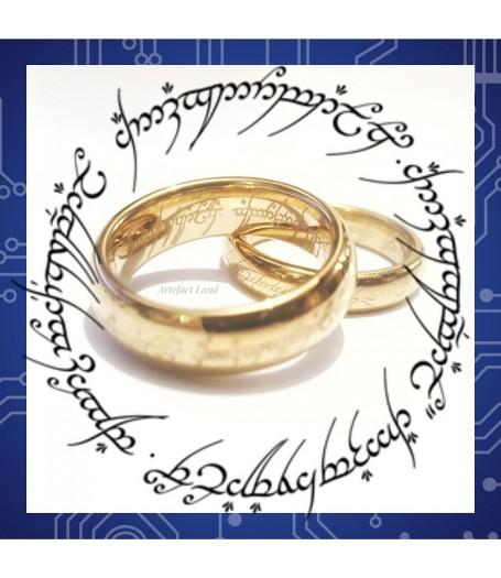 Кольцо Всевластия из карбида вольфрама