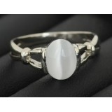 Кольцо Беллы Свон с лунным камнем