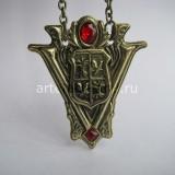 Кулон с гербом клана Вольтури